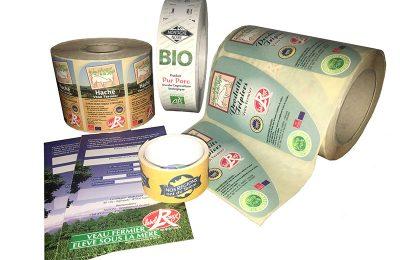 Nachhaltige Etiketten